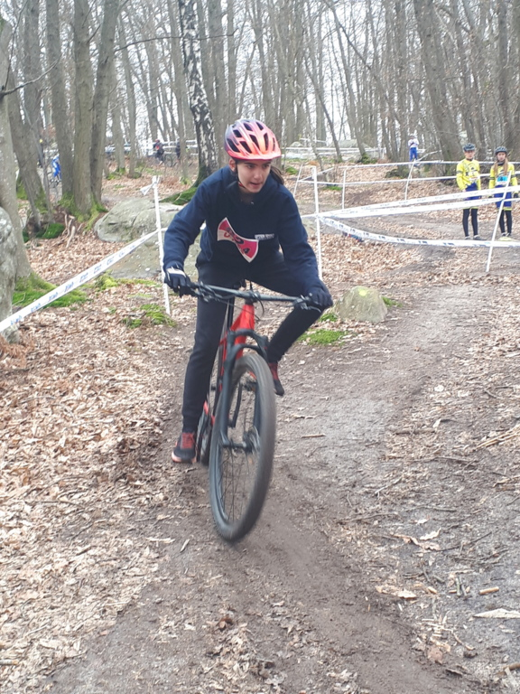 Vice champion départemental en VTT